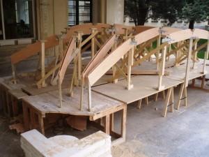 Cimbra construccion Boveda
